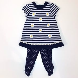 Little Me Toddler Girl Two Piece Set Size 18 Month